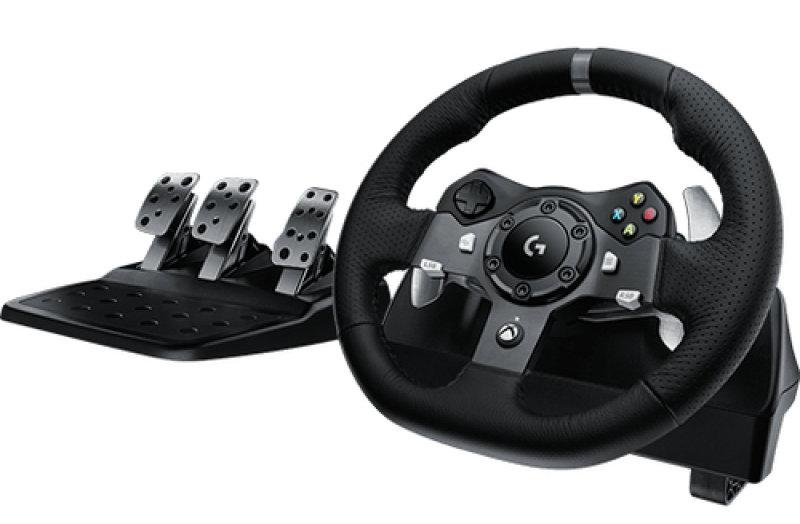 Logitech G920 Steering Wheel Starlight