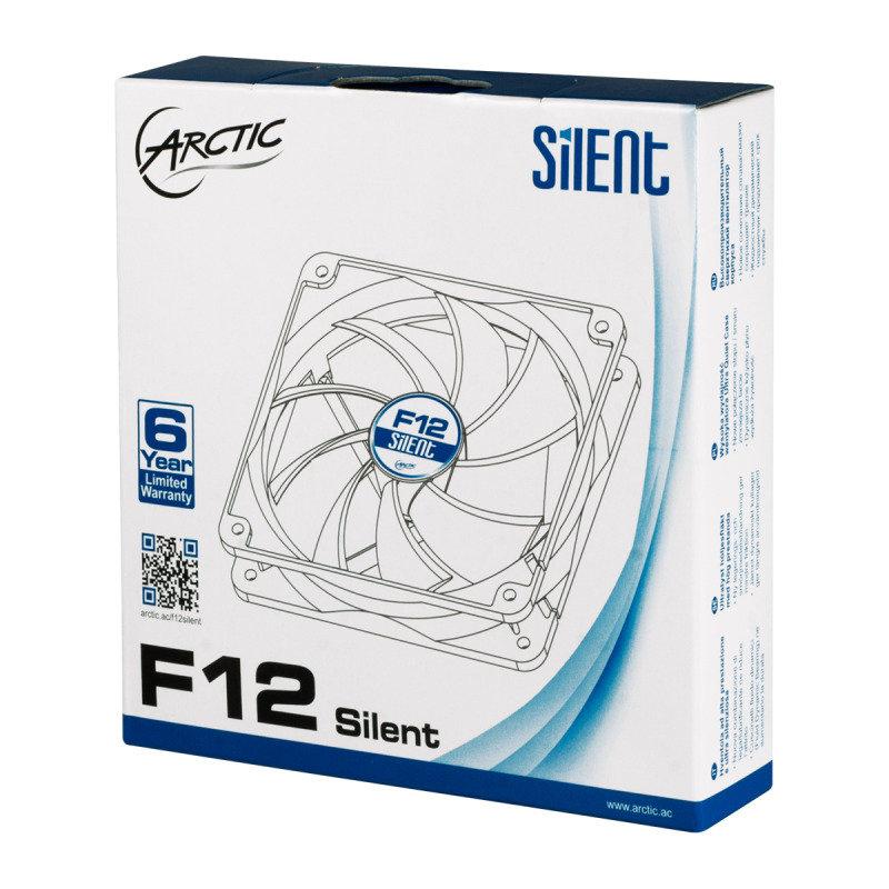 Arctic F12 Silent (120mm) 3-pin Case Fan
