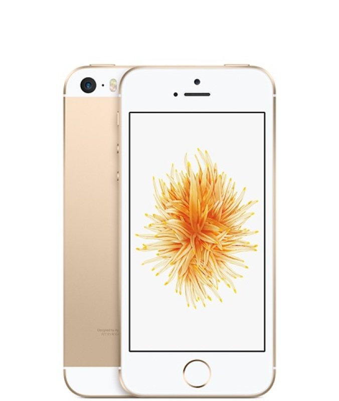 "Image of Apple iPhone SE 4"" 16GB - Gold"