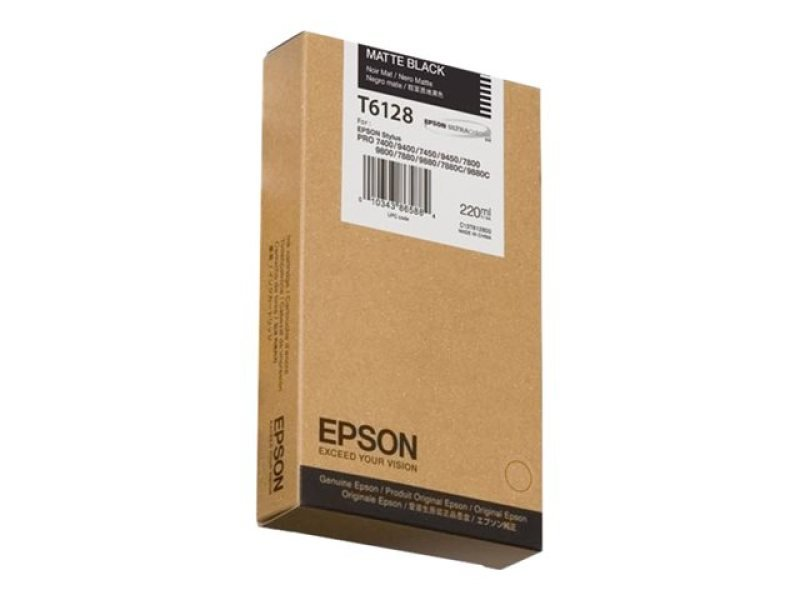 Epson T6128 - Print cartridge - 1 x matte black