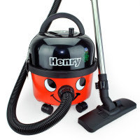 EXDISPLAY Numatic Henry Red Bagged Vacuum Cleaner