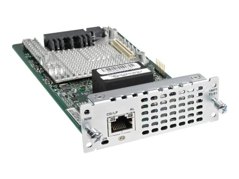 Cisco Fourth-Generation Multi-flex Trunk Voice/ Channelized Data T1/ E1 Module - expansion module