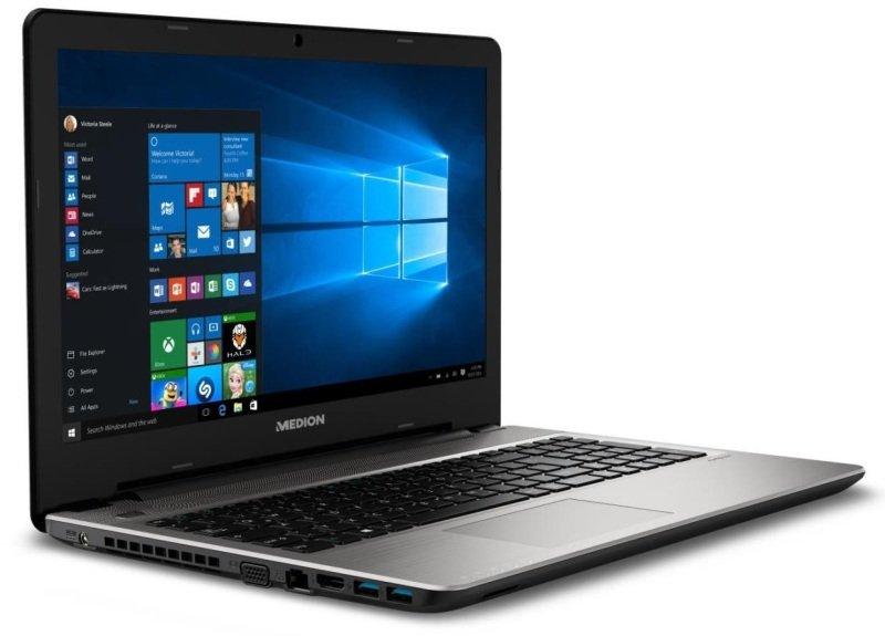 """Image of Medion Akoya E6421 Laptop, Intel Core i5-6200U 2.3GHz, 8GB RAM, 1TB HDD, 15.6"""" LED, DVDRW, Intel HD, WIFI, Bluetooth, Windows 10"""