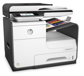 HP PageWide Pro 477dw Wireless Multifunction Inkjet Printer