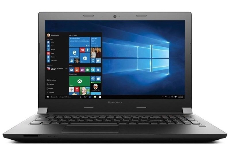 Lenovo Essential B5050 Laptop Intel Core i35005U 2GHz 4GB RAM 128GB SSD 15.6&quot LED DVDRW Intel HD WIFI Webcam Bluetooth Windows 10 Home 64bit