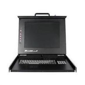Startech 1u 17 In. Folding Rackmount Lcd Console KVM Console
