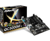 ASRockQC5000M AMD FT3 Kabini A4-5000 VGA HDMI 7.1 CH HD Audio Micro ATX Motherboard