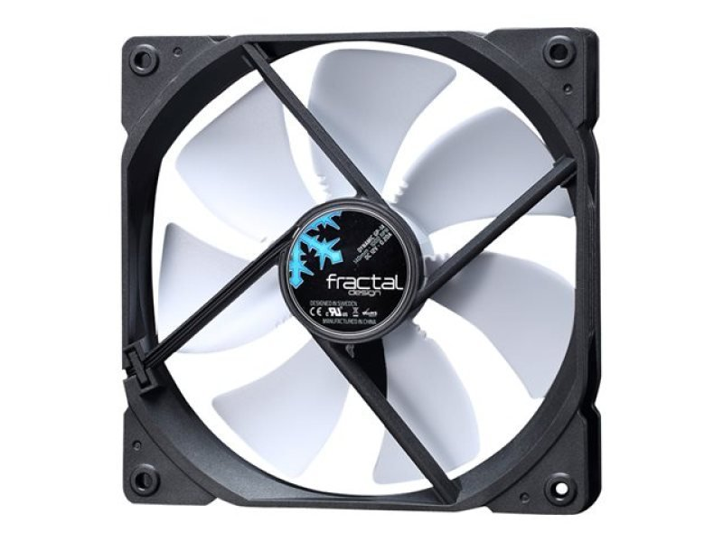 Image of Fractal Design Dynamic Series Gp-14 (140mm) Computer Case Fan (black/white)