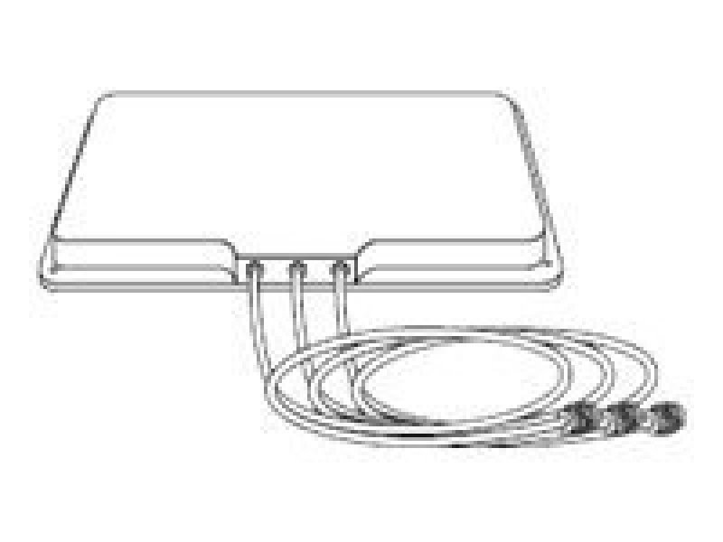 Cisco Aironet 5-GHz MIMO 6-dBi Patch Antenna