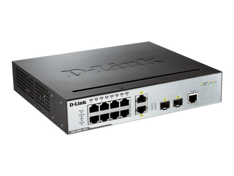 D-Link DGS 3000-10TC Managed Switch