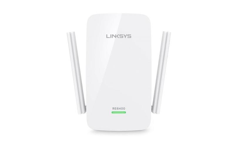 Linksys RE6400 Universal Dual Band AC1200 Gigabit Wi-Fi Range Extender