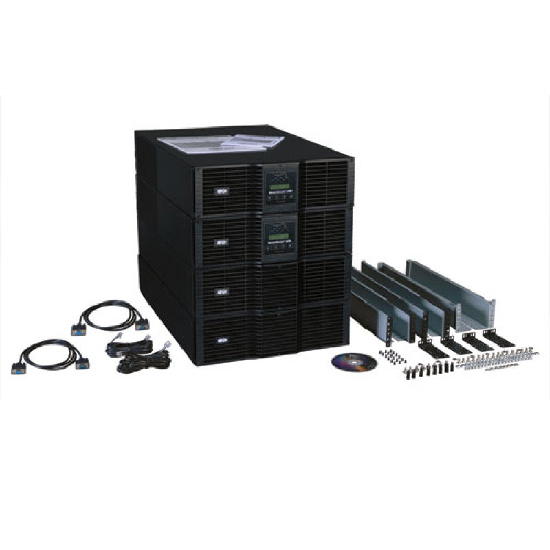 Tripp Lite SmartOnline 208/240, 230V 16kVA 14.4kW Double-Conversion UPS, N+1, 12U Rack/Tower