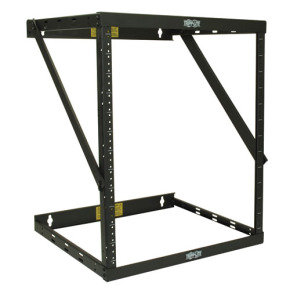 SmartRack 8U/12U/22U Expandable Flat-Pack Low-Profile Switch-Depth Wall-Mount 2-Post Open Frame Rack