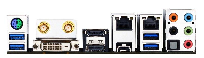 EXDISPLAY Gigabyte GA-Z170N-WIFI Socket 1151 DVI Dual HDMI 7.1 Channel audio Mini ITX Motherboard