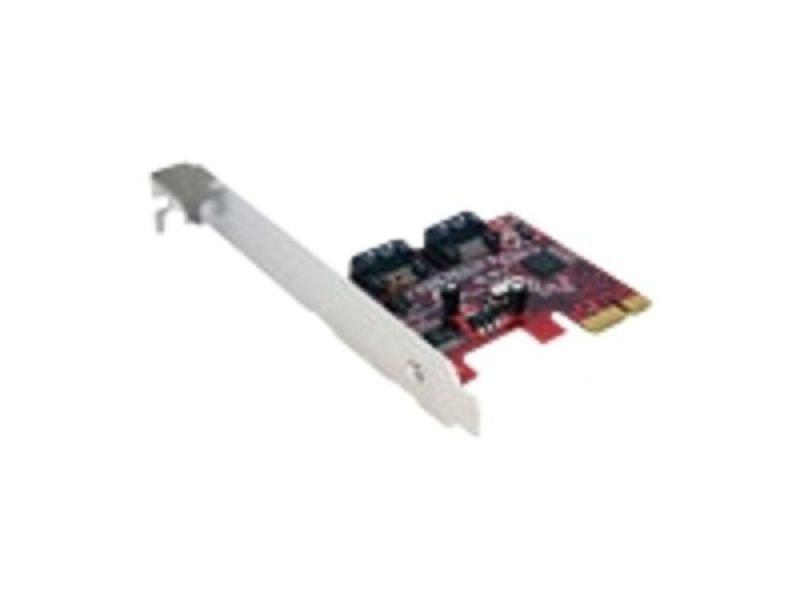 EXDISPLAY StarTech.com 2 Port SATA 6 Gbps PCI Express SATA Controller Card