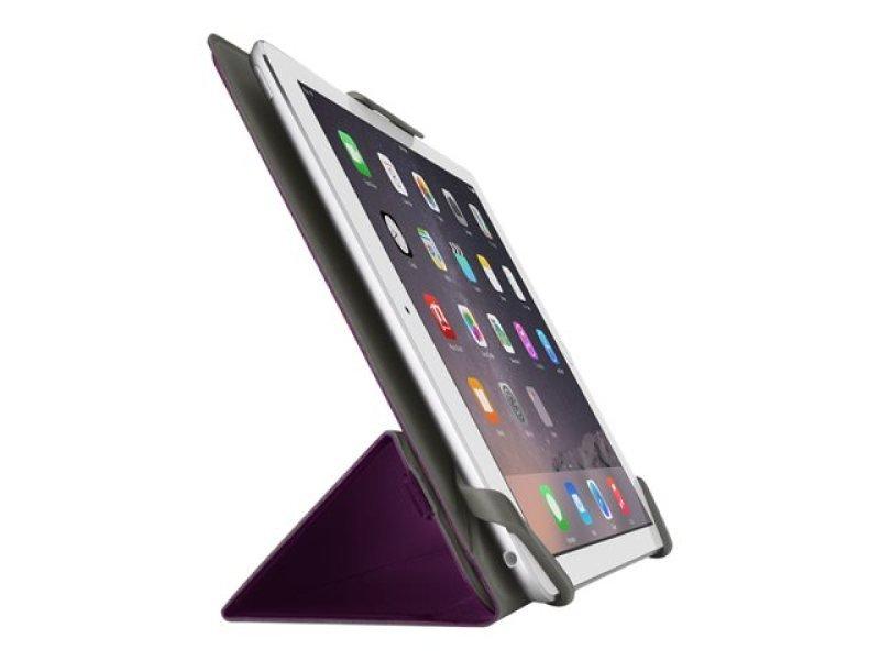 8'' Tri Fold Cover iPad Mini Purple