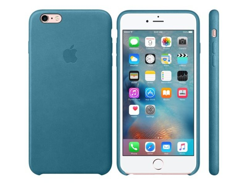 Apple iPhone 6s Plus Leather Case - Marine Blue
