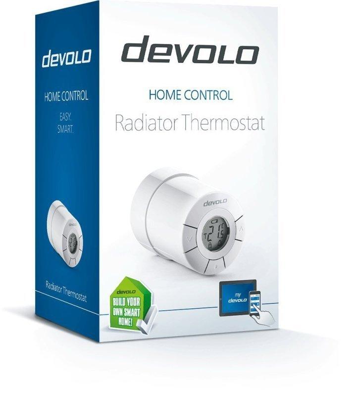 Devolo Home Control Radiator Thermostat 9502  White