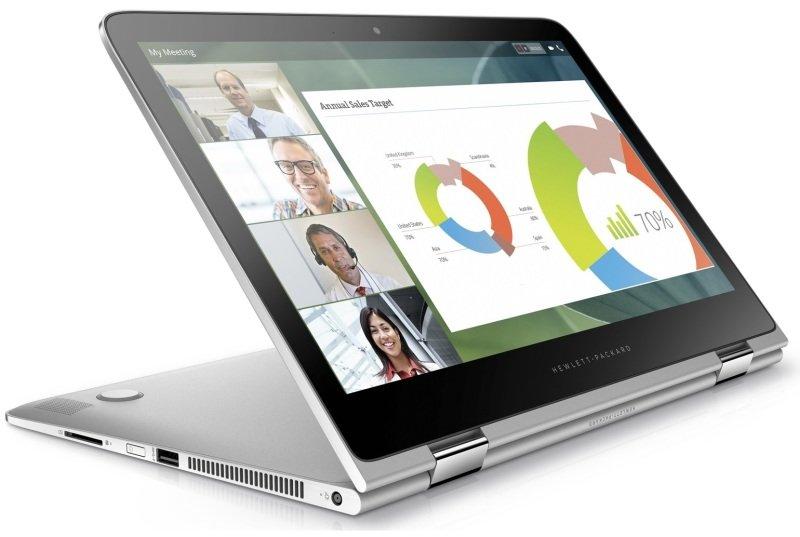 "HP Spectre Pro x360 G2 Convertible Ultrabook, Intel Core i7-6600U 2.6GHz, 8GB RAM, 256GB SSD, 13.3"" touchscreen (2560 x 1440), No-DVD, Intel HD, WIFI, Webcam, Bluetooth, Windows 10 Pro 64, Silver"