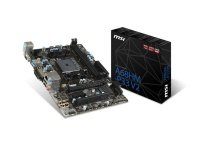 MSI A68HM-P33 V2 Socket FM2+ VGA DVI 8-channel audio Micro-ATX Motherboard