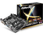 ASRock FM2A68M-DG3+ Socket FM2+ VGA DVI-D 5.1 CH HD Audio Micro ATX Motherboard