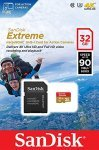 SanDisk Extreme 32GB MicroSD Card & Adapter