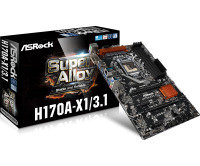 ASRock H170A-X1/3.1 Socket 1151 DVI-D 7.1 CH HD Audio ATX Motherboard