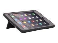 Griffin Survivor Slim - Protective cover for tablet - silicone, polycarbonate - black - for Apple iPad mini, iPad mini 2, 3