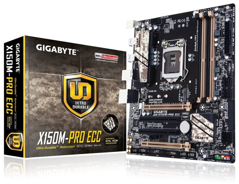 Gigabyte GAX150MPRO ECC Socket LGA1151 245.17.1channel Micro ATX Motherboard