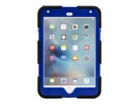 Griffin Survivor All-Terrain Case for iPad Mini 4 in Black/Blue/Black - GB41356