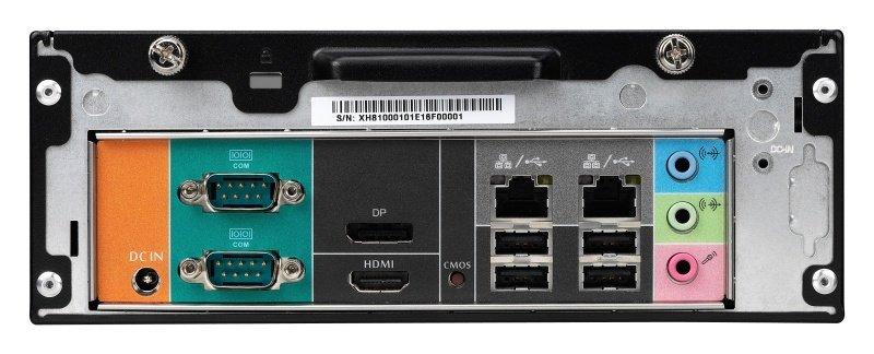 Shuttle XH81V Supports LGA1150 Slim-PC Barebone - No OS System