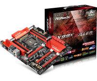 EXDISPLAY AsRock Fatal1ty X99X Killer Socket LGA 2011-3 7.1 CH HD Audio ATX Motherboard