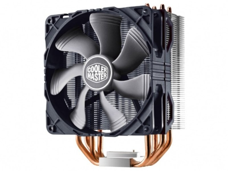 Cooler Master Hyper 212x 4 Heatpipe  1x 120 Pwm Fan  Tower Cpu Cooler