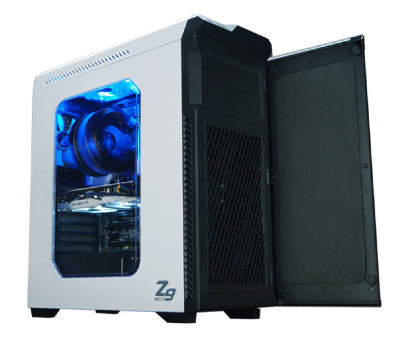 Zalman Z9 Neo ATX Mid Tower Case (White)