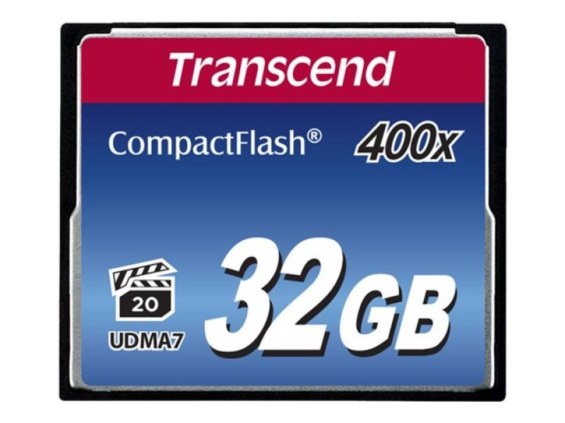 Transcend 32GB 400x Compact Flash Card