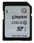 Kingston 128GB Class 10 UHS-I SDXC Memory Card