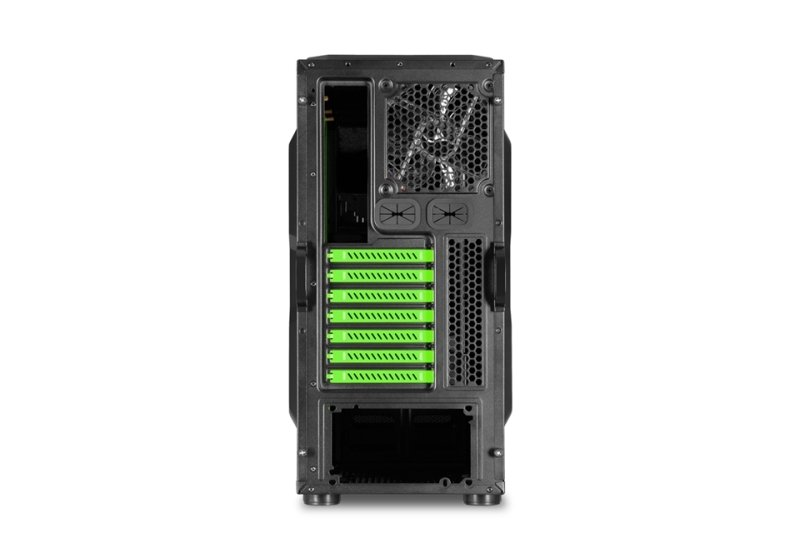 Sharkoon BD28 ATX Midi Tower Case (Green)