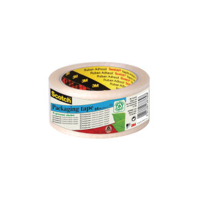 Scotch Packaging Tape 50mmx66m Trans - 6 Pack