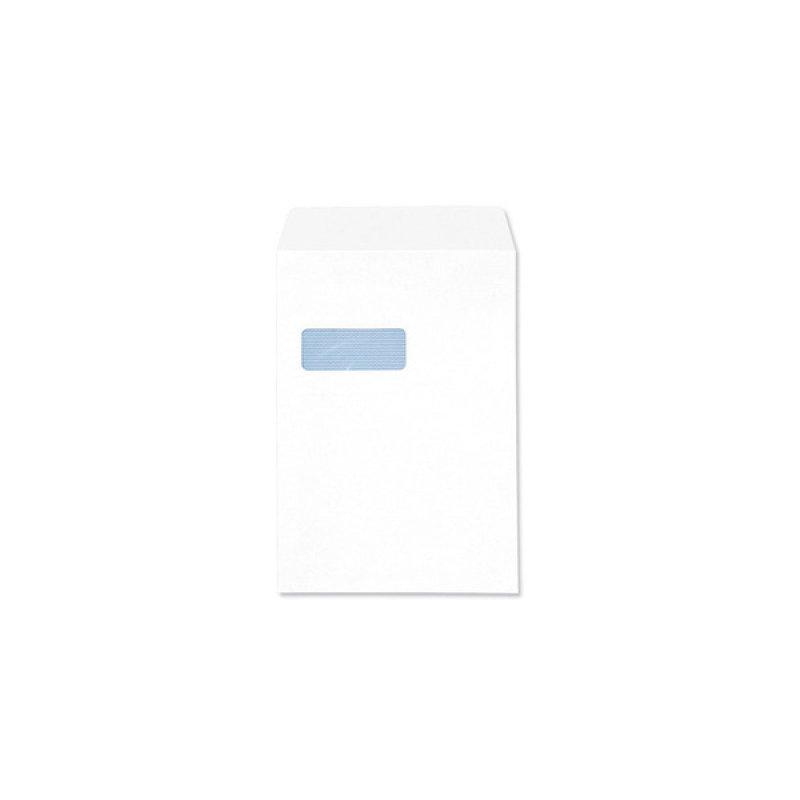 Q CONN ENV S/S C4 WDW 100G WHITE PK250