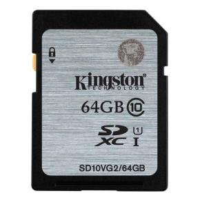 Kingston 64GB SDXC Memory Card