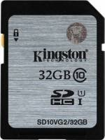 Kingston 32GB Class 10 UHS-I SDHC Flash Card
