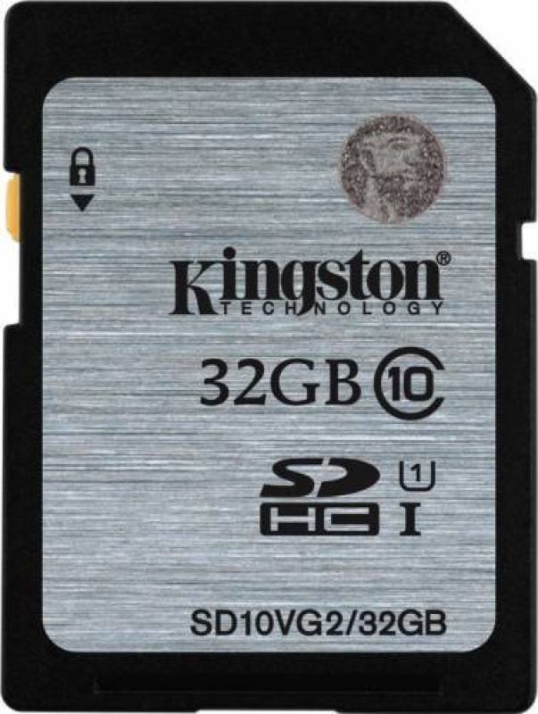 Kingston 32GB Class 10 UHS-I SDHC Memory Card