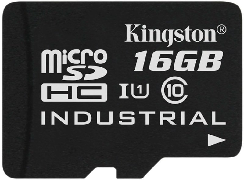 Kingston 16GB Micro SDHC Class 10 UHS-I Industrial Temperature Card