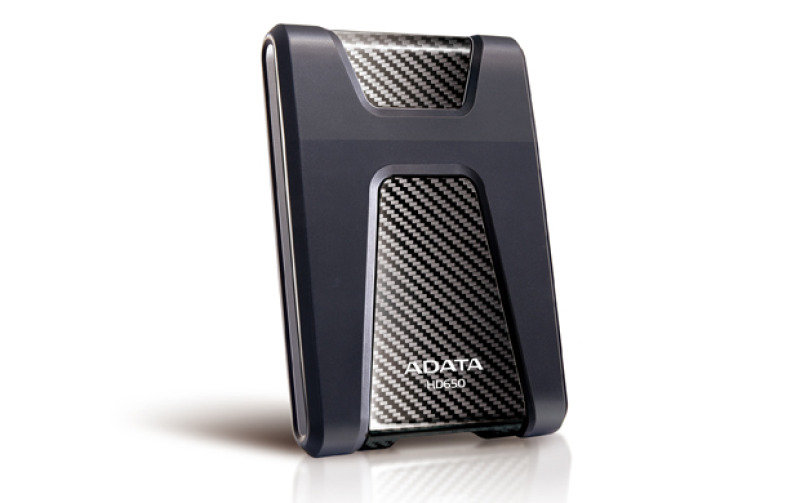 ADATA DashDrive Durable HD650 2TB Black USB 3.0 External Hard Drive