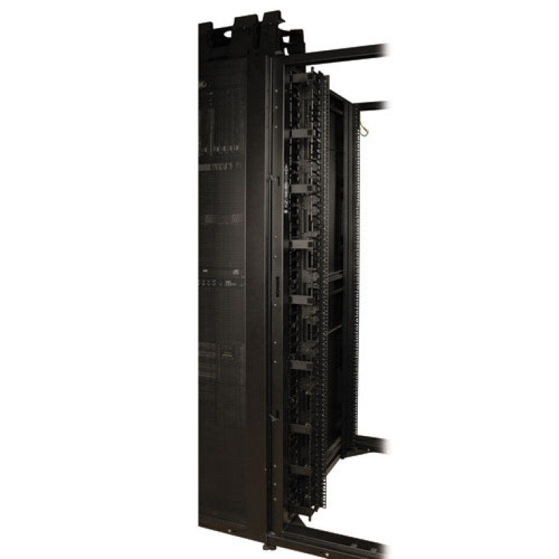 Smartrack 3 In. Wide High Capacity Vertical Cable Manager - Double Fin