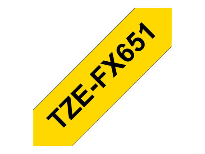 TZEFX-651 BLACK ON YELLOW