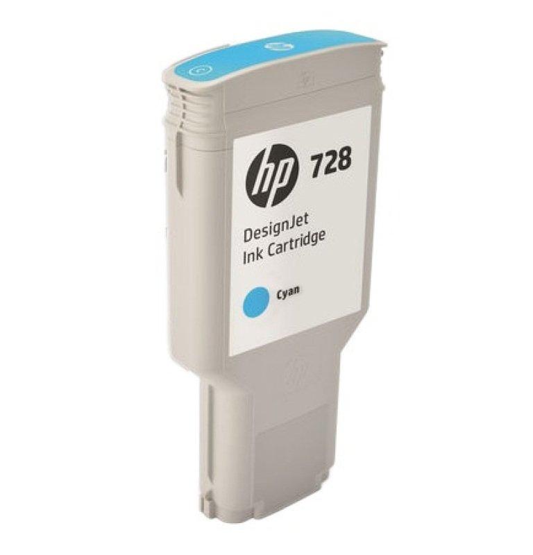 HP 728 300ml Cyan DesignJet Ink Cartridge
