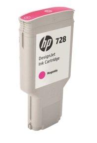 HP 728 300-ml Magenta DesignJet Ink Cartridge