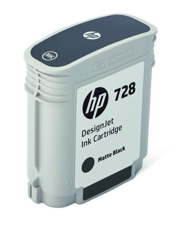 HP 728 69ml Matte Black DesignJet Ink Cartridge
