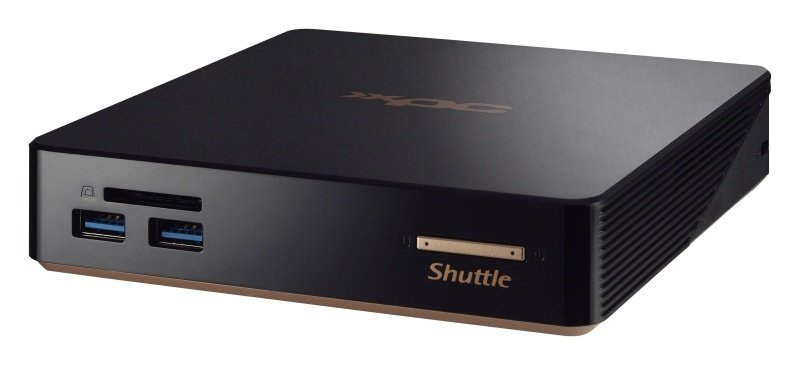 Shuttle XPC Nano NC01U7 Intel i7-5500U 2.4 GHz Mini Barebone (No Operating System)